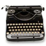 Old machine writing — Stock Photo #30437613