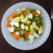 Salad of vegetables — Stock Photo