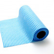 Roll of cleaning cloths — Stock Photo
