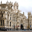 Stock Photo: Palacio de Comunicaciones, Madrid