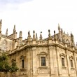Stock Photo: Cathedral of Seville, Spain.
