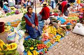 Mercado de Pisac, Peru — Stock Photo