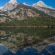 Stock Photo: Tetons
