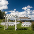 Wedding venue — Stock Photo
