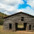 Oid barn — Stockfoto