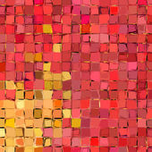 Abstract fragmented pattern in orange pink red — Stock Photo