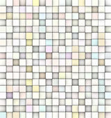 3d mosaic backdrop in shade of near white — Stock Photo