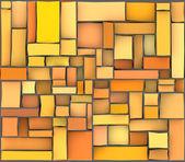 Pomarańczowy żółty abstrakcyjny wzór płytki tekstura powierzchni — Zdjęcie stockowe