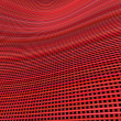 Royalty-Free Stock Photo: Multiple red pink 3d wavy grid cloth like pattern backdrop