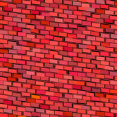 Abstract red magenta tiled fragmented exploded backdrop — Stock Photo