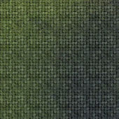 3d tile mosaic wall floor in green grunge stone — Stock Photo