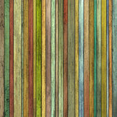 Abstract grunge 3d render colored wood timber plank backdrop — 图库照片