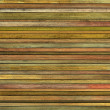 Abstract grunge 3d render orange green wood timber plank backdro — Foto Stock