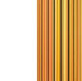 3 d のオレンジ黄色オレンジ色のケーブル形状の背景 — ストック写真