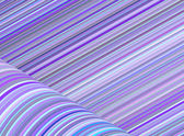 Abstract purple blue cylinder curl shape backdrop — Stock Photo