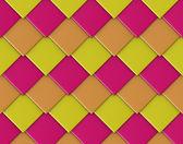 Sullo sfondo di mattonelle di forma astratta diamante quadrato diagonale — Foto Stock