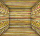3d timber wood orange plank square empty space — Stock Photo