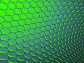 3d abstract backdrop in green — Stock Photo