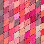 3d mosaic abstract pink backdrop — Stock Photo