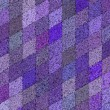 3d mosaic abstract purple backdrop — Stock Photo