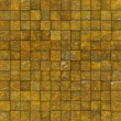 Grunge tile mosaic wall floor orange yellow — Стоковая фотография