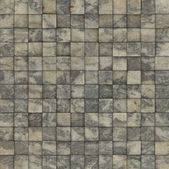 Mosaic tile speckled beige gray wall floor — Stock Photo