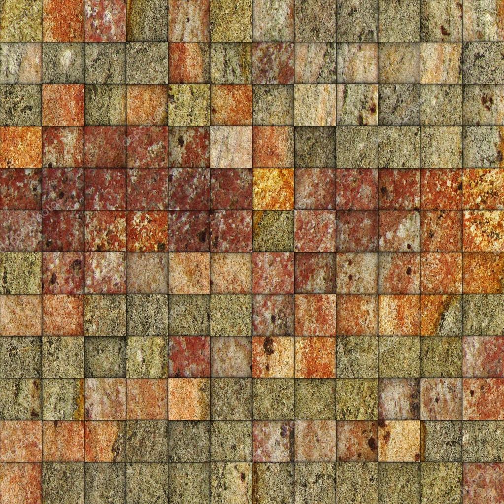 Mosaïque moucheté multi couleur mur carrelage — photographie ...
