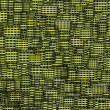Mosaic tile fragmented backdrop in green yellow — Foto Stock