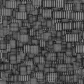 Mosaic tile metal techno fragmented backdrop — Stock Photo