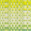 Abstract green yellow backdrop fragmented — Stock Photo