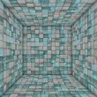 Stock Photo: Tile mosaic empty space room stone concrete