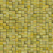 Tile mosaic pattern backdrop in striped yellow green — Stockfoto