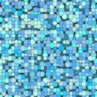 3d bubble balls pattern mosaic backdrop in blue gray — Stock Photo #41722933