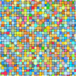 Stock Photo: 3d bubble balls pattern mosaic backdrop in multiple bright color