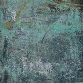 3d abstract grunge blue wall backdrop  — Stock Photo