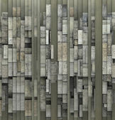 3d fragmented gray abstract grunge pattern backdrop — Stock Photo