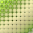 3d abstract tiled mosaic background in multiple green beige — Stock Photo #50617061