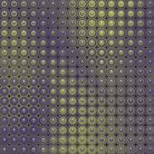 3d-glanzende abstracte betegelde zeepbel achtergrond in het paars groen — Stockfoto