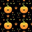 Vector seamless Halloween background. — Stock Vector #13783111