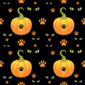 Vector seamless Halloween background. — Stock Vector