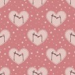Valentine`s day pattern — Stockvector