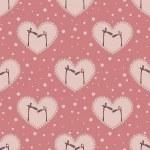Valentine`s day pattern — Διανυσματικό Αρχείο