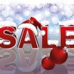 Christmas sale banner, Vector Illustration — Stock Vector #15706155