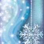 Winter background with diamond snow, vector illustration — Stock Vector #17890951