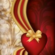 Valentine day banner, vector illustration — стоковый вектор #18334039