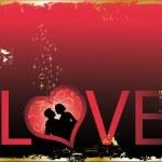Love card, vector — Stock Vector #3014878