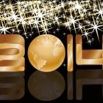 feliz ano novo 2014. cartão de felicitações — Vetorial Stock