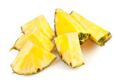 Pineapple chunks — Stockfoto
