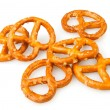 Pretzel many — Stock Photo