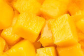 Mango chunks — Stock Photo